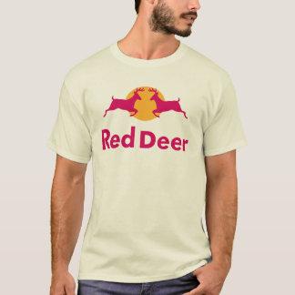 Camiseta T-shirt do veado vermelho