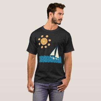 Camiseta T-shirt do verão da brisa de mar