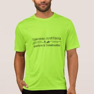 Camiseta T-shirt do verde do highlighter dos arquitetos de