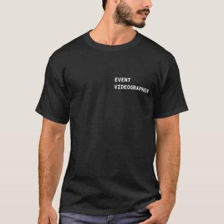 Camiseta T-shirt do vídeo do evento
