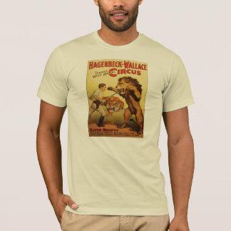 Camiseta T-shirt do vintage do circo de Hagenbeck
