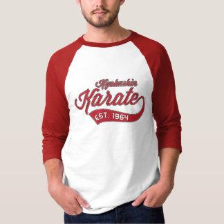 Camiseta T-shirt do vintage do karaté de Kyokushin