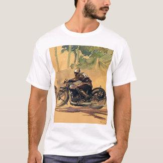 Camiseta T-shirt do vintage do velomotor