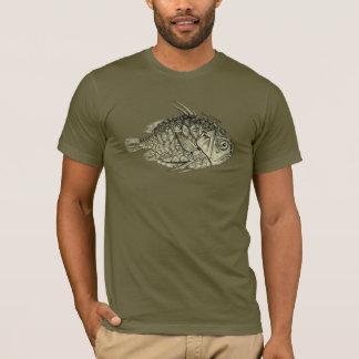 Camiseta T-shirt do vintage dos peixes de Pinecone