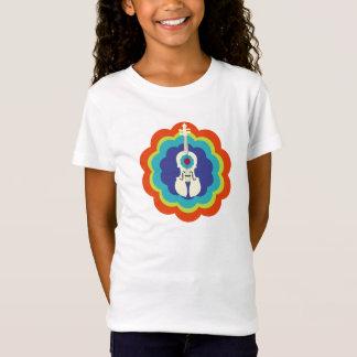 Camiseta T-shirt do violino para a explosão do
