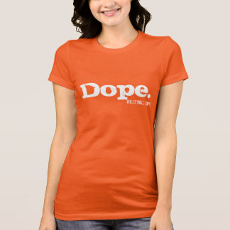 Camiseta T-shirt do voleibol do narcótico