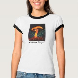 Camiseta T-shirt do Whisperer do cogumelo