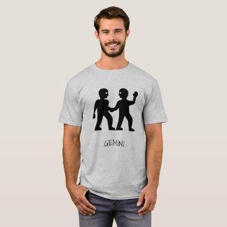 Camiseta T-shirt do zodíaco dos Gêmeos