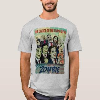 Camiseta T-shirt do zombi do voto