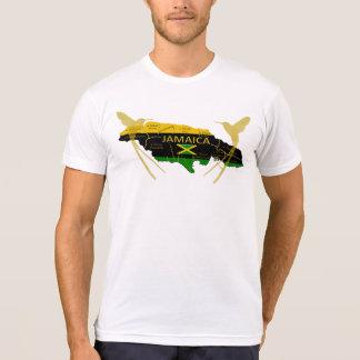 Camiseta T-shirt do zumbido do ouro das cores das paróquias