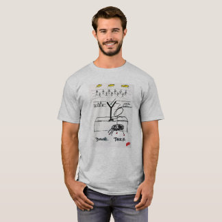 Camiseta T-shirt dobro de Screwballs™ Martini