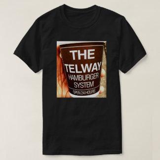 Camiseta T-shirt Dobro-Dobro do Telway de Detroit