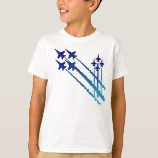 Camiseta T-shirt dobro dos miúdos dos diamantes dos anjos