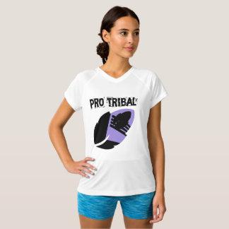 Camiseta T-shirt Dobro-Seco do V-Pescoço de Pantone do