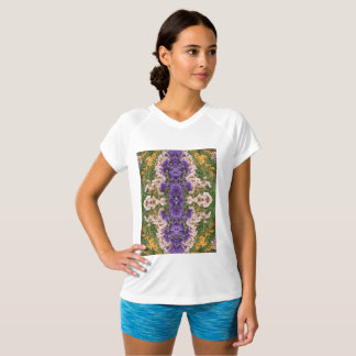 Camiseta T-shirt Dobro-Seco do V-Pescoço do campeão das