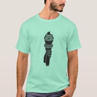 Camiseta T-shirt doce de justiça para homens