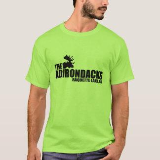 Camiseta T-shirt dos alces do lago Raquette