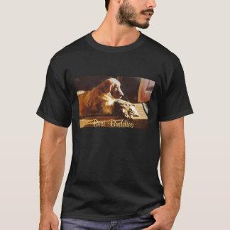 Camiseta T-shirt dos amigos do golden retriever o melhor