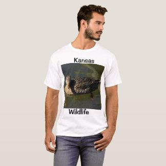 Camiseta T-shirt dos animais selvagens de Kansas