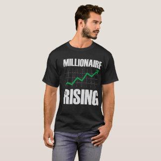 Camiseta T-shirt dos Ascensão-Homens do milionário
