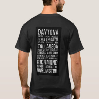 Camiseta T-shirt dos autódromos