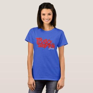 Camiseta T-shirt dos azuis marinhos do orgulho nacional das