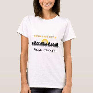 Camiseta T-shirt dos bens imobiliários
