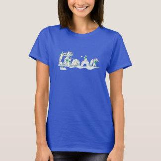 Camiseta T-shirt dos bichos da neve