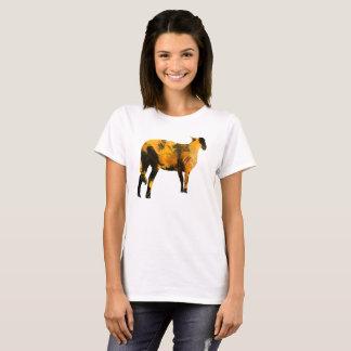 Camiseta T-shirt dos carneiros - vai o Vegan