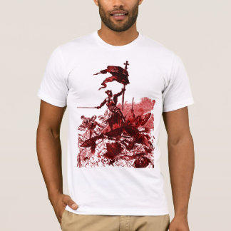 Camiseta t-shirt dos cavaleiros-templar