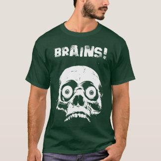 Camiseta T-shirt dos cérebros do zombi - faça Romero
