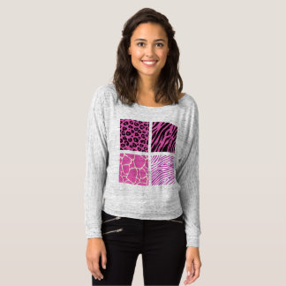 Camiseta T-shirt dos desenhistas com teste padrão de Jaguar