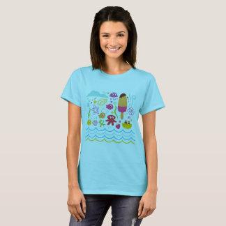 Camiseta T-shirt dos desenhistas originais com criaturas do