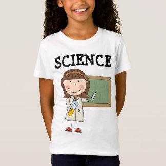 Camiseta T-shirt dos desenhos animados da ciência