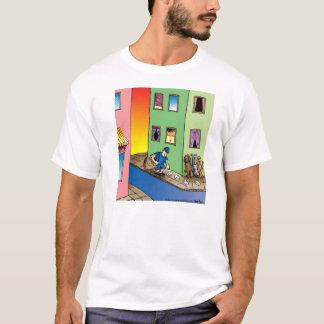 Camiseta T-shirt dos desenhos animados do carteiro da