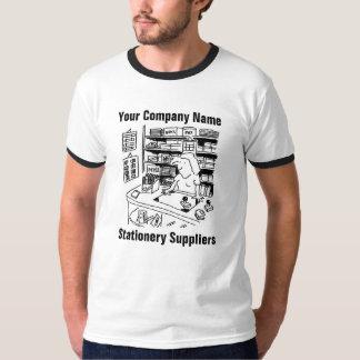 Camiseta T-shirt dos desenhos animados dos fornecedores dos