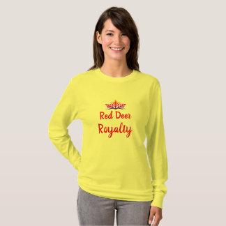 Camiseta T-shirt dos direitos de Alberta do veado vermelho