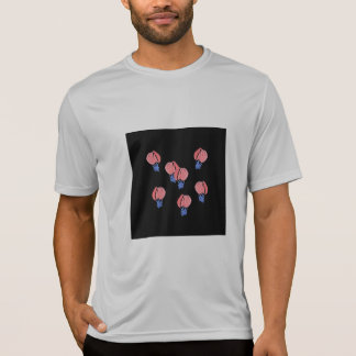 Camiseta T-shirt dos esportes dos homens dos balões de ar