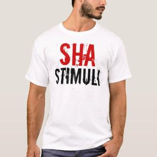 Camiseta T-shirt dos estímulos de Sha