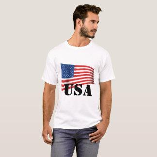 Camiseta T-shirt dos EUA da bandeira americana