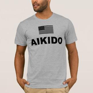 Camiseta T-shirt dos EUA do Aikido