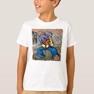 Camiseta T-shirt dos grafites de Hip Hop