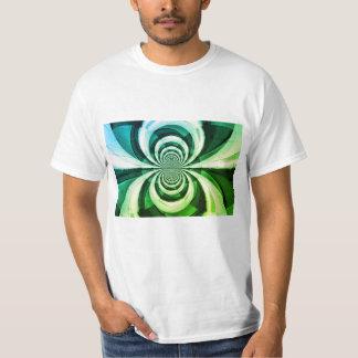 Camiseta T-shirt dos homens da arte abstracta