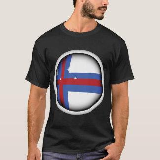 Camiseta T-shirt dos homens da bandeira de Faroe Island