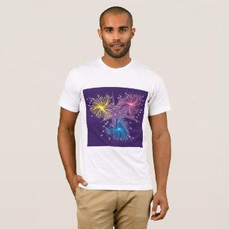 Camiseta T-shirt dos homens da exposição dos