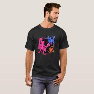 Camiseta T-shirt dos homens da membrana