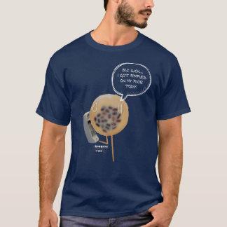 Camiseta T-shirt dos homens da obscuridade do pudim   do