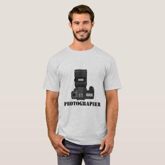 Camiseta T-shirt dos homens da profissão do fotógrafo