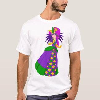 Camiseta T-shirt dos homens da rainha do carnaval