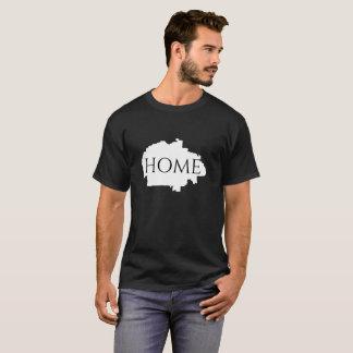 Camiseta T-shirt dos homens da terra da casa da nação do